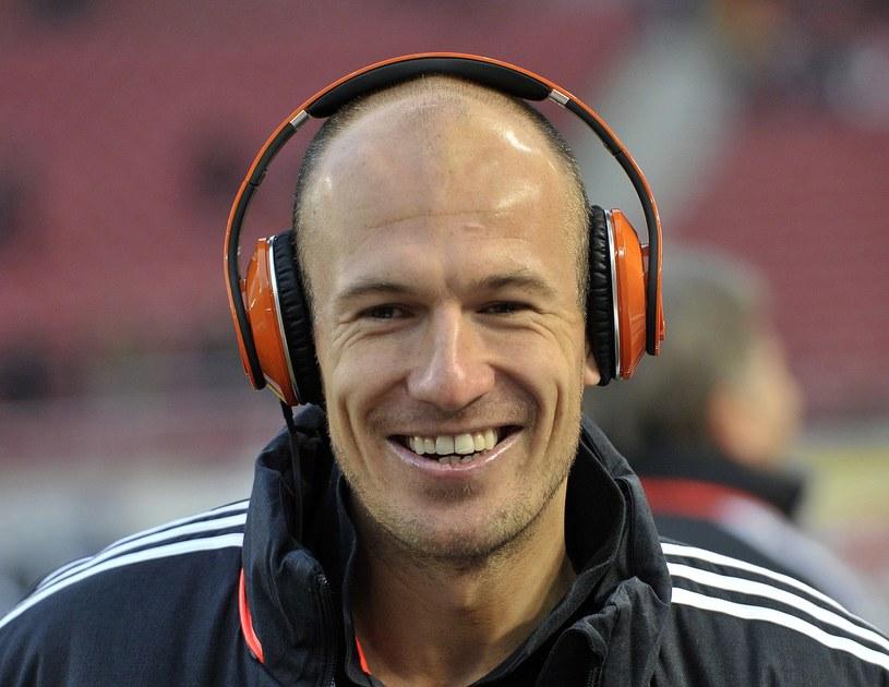 Arjen Robben, gwiazda reprezentacji Holandii /AFP