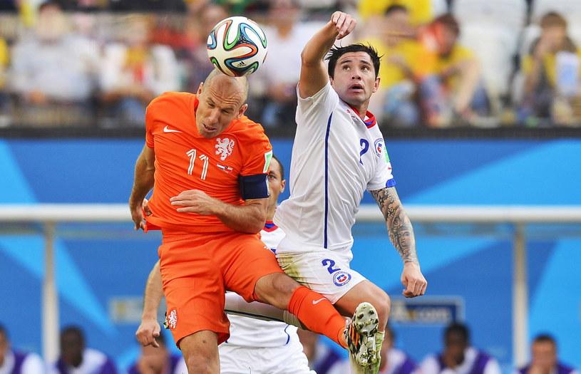 Arjen Robben rozegrał kolejny dobry mecz na mundialu /PAP/EPA