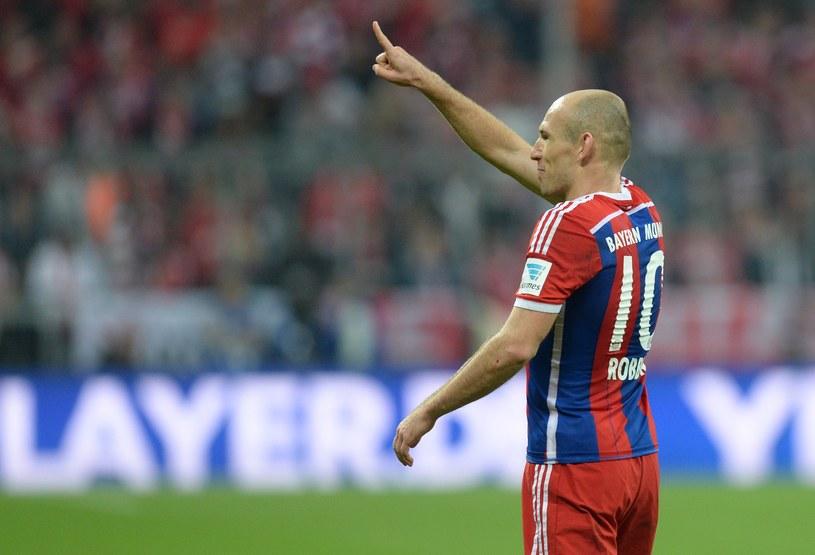 Arjen Robben, skrzydłowy Bayernu Monachium /AFP