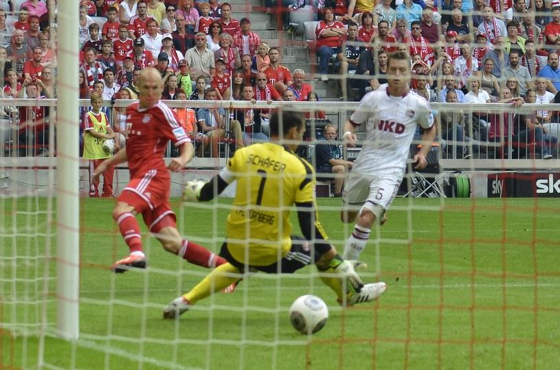 Arjen Robben zdobył jedną z bramek dla Bayernu /AFP