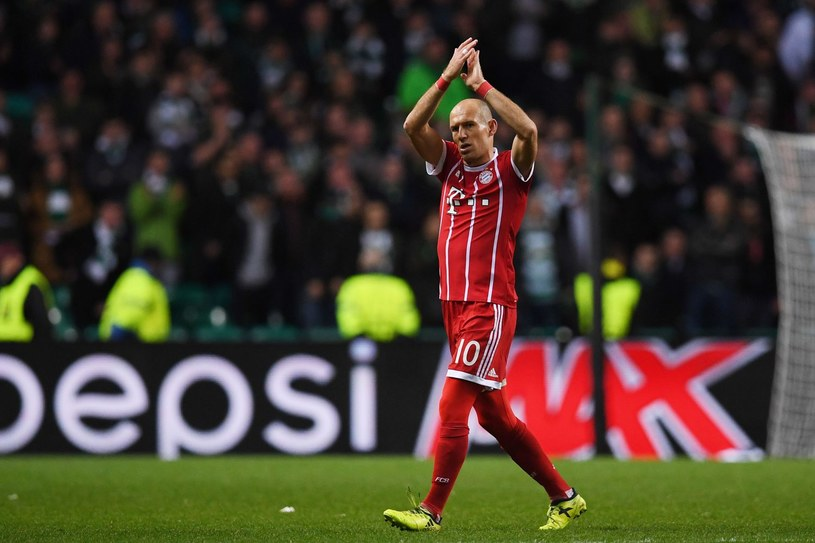 Arjen Robben /PAUL ELLIS /AFP