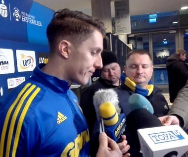 Arka Gdynia. Damian Zbozień: Nawarzyliśmy sobie piwa. Wideo