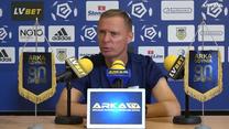 Arka Gdynia. Ireneusz Mamrot o degradacji i planach na kolejny sezon. Wideo
