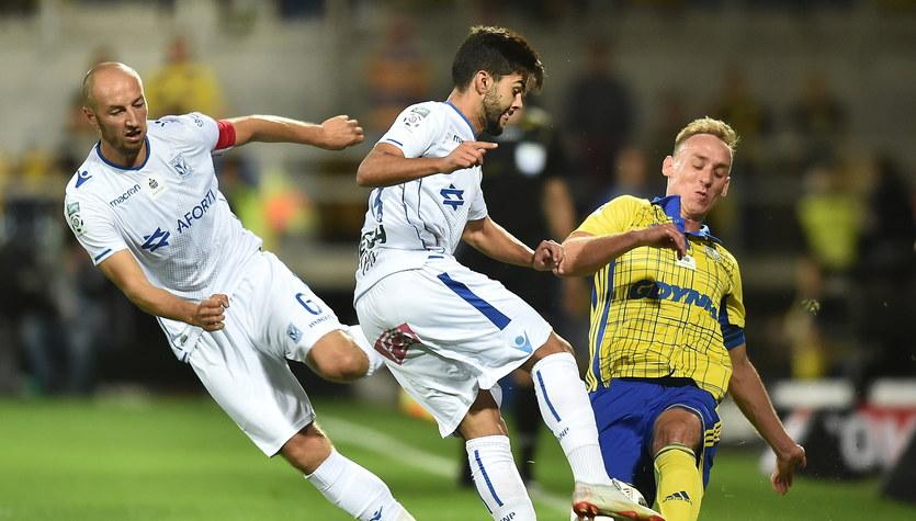 Arka Gdynia - Lech Poznań 1-0 w meczu 9. kolejki Ekstraklasy