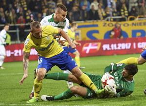 Arka Gdynia - Lechia Gdańsk 0-1 w 15. kolejce Ekstraklasy