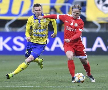Arka Gdynia - Miedź Legnica 1-1 w 30. kolejce Ekstraklasy