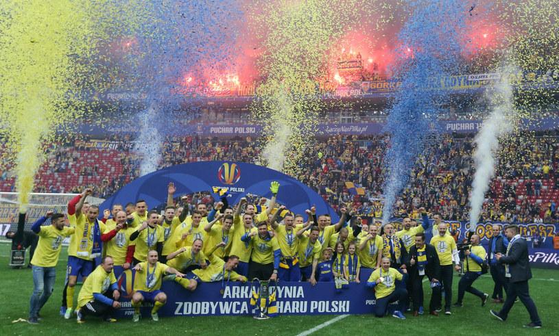 Arka zdobyła Puchar Polski w 2017 roku /Tomasz Jastrzębowski /East News