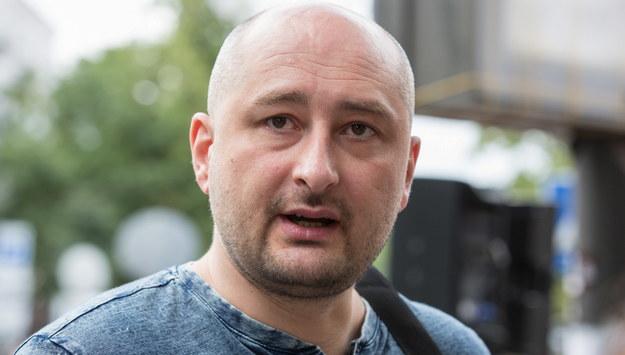 Arkadij Babczenko jednak żyje. O tajnej operacji nie wiedziała nawet jego żona