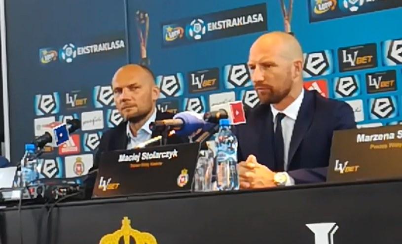 Arkadiusz Głowacki i Maciej Stolarczyk /Piotr Jawor /INTERIA.PL