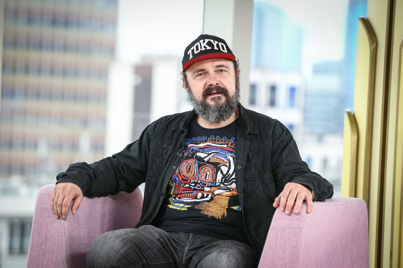 Arkadiusz Jakubik stoi na czele grupy Dr Misio /KAMIL PIKLIKIEWICZ/Dzień Dobry TVN/ /East News