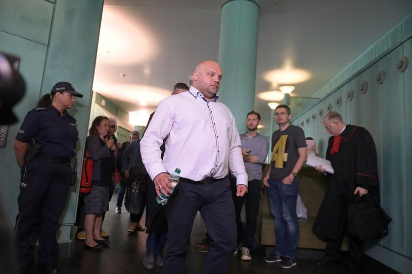 Arkadiusz Kraska przed posiedzeniem Sądu Najwyższego /Marcin Obara /PAP