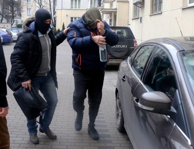 """Arkadiusz Ł. ps. """"Hoss"""" kierował tak zwaną """"mafią wnuczkową"""" /Agencja SE/East News"""