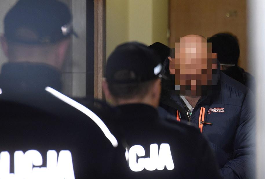 Arkadiusz Ł. w Sądzie Rejonowym dla Warszawy-Mokotowa /Radek Pietruszka /PAP