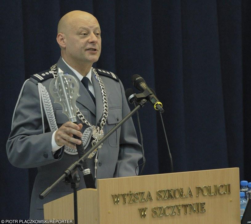 Arkadiusz Letkiewicz w 2011 r. jako rektor Wyższej Szkoły Policyjnej w Szczytnie /fot. Piotr Placzkowski /Reporter