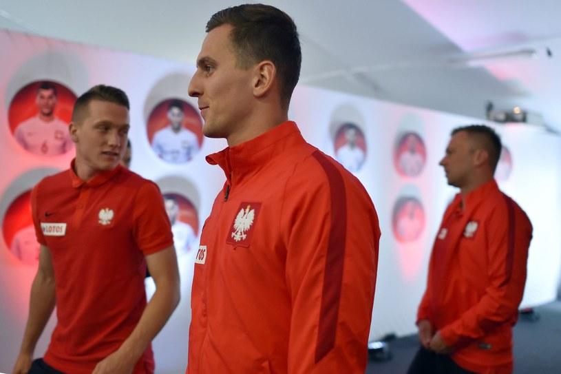 Arkadiusz Milik i Piotr Zieliński /AFP