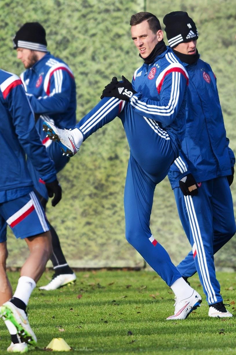Arkadiusz Milik, piłkarz Ajaksu Amsterdam /AFP