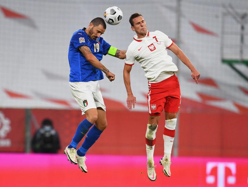 Arkadiusz Milik (po prawej) /Claudio Villa /Getty Images