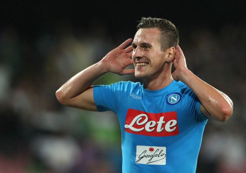 Arkadiusz Milik wraca do kadry meczowej Napoli /AFP