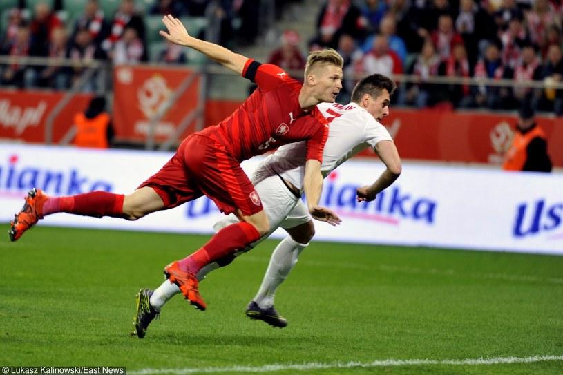 Arkadiusz Milik zdobywa bramkę dla Polski /Łukasz Kalinowski /East News