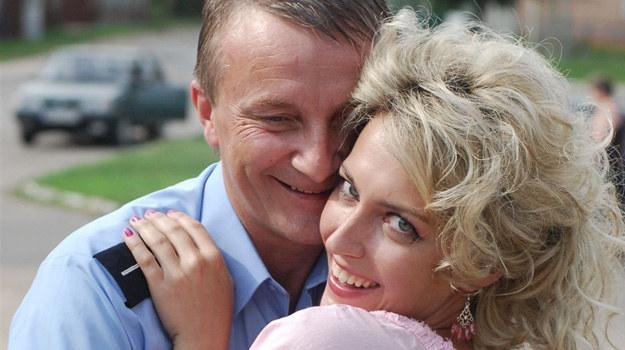 Arkadiusz Nader (Staś) i Magdalena Waligórska (Wioletka) /Agencja W. Impact
