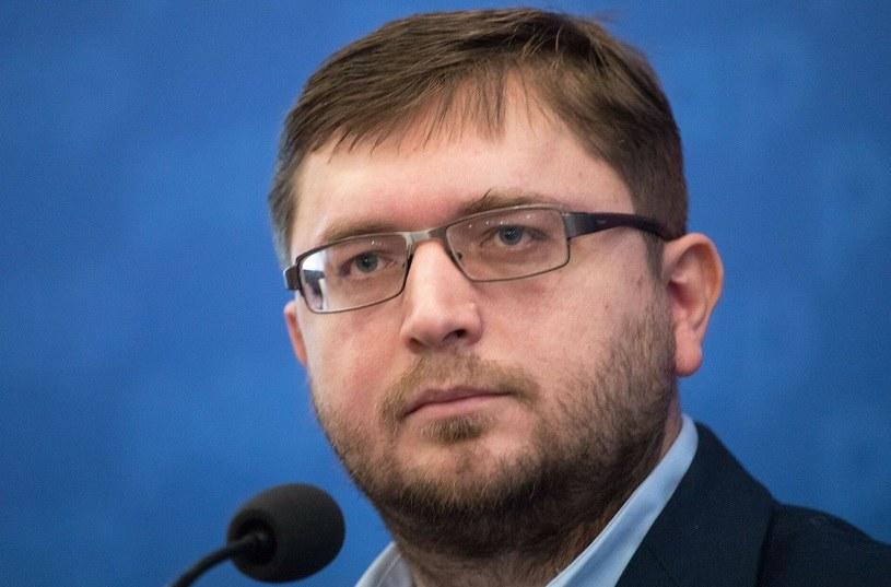 Arkadiusz Szcześniak, prezes Stowarzyszenia Stop Bankowemu Bezprawiu /Agencja SE/East News
