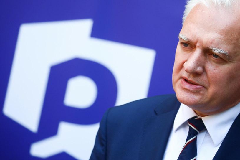 Arkadiusz Urban uważa, że Jarosław Gowin nie przestrzega statutu partii /Beata Zawrzel /Reporter