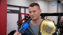 Arkadiusz Wrzosek: W przyszłym roku chcę wystąpić na gali FEN. WIDEO (Polsat Sport)