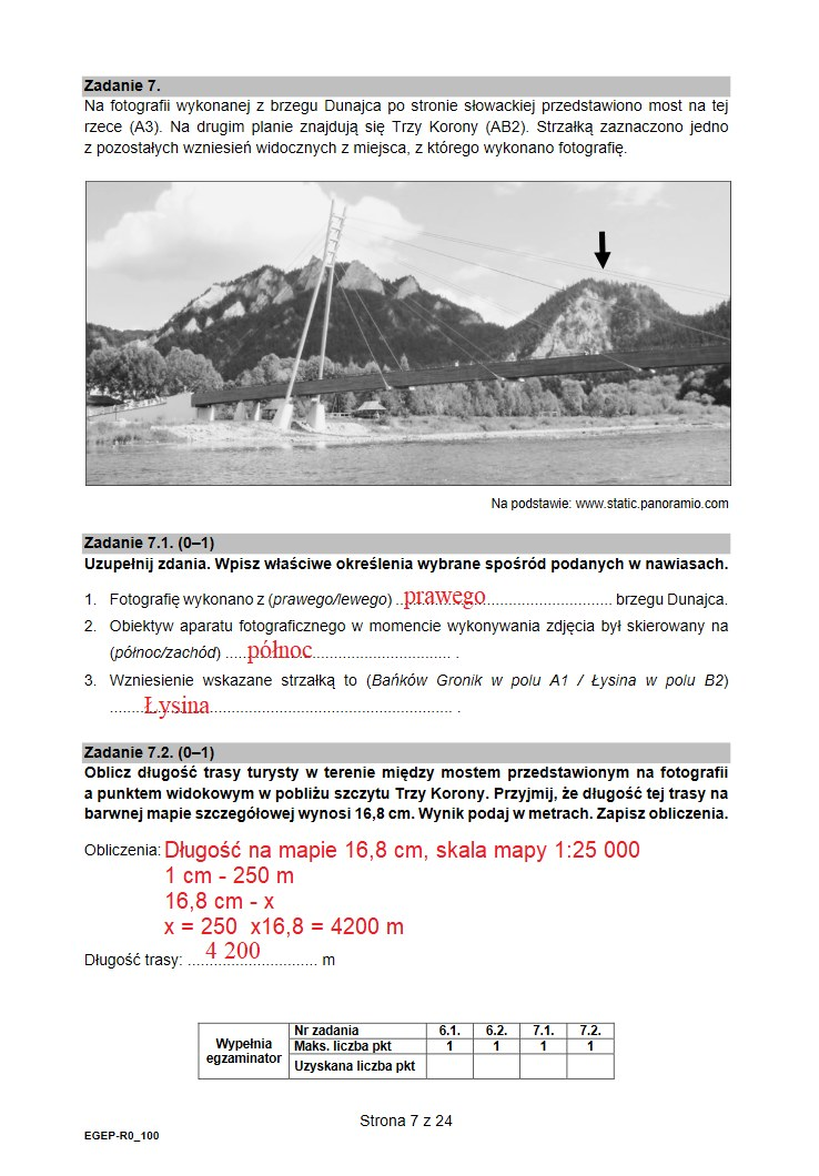 Arkusz CKE i nieoficjalne odpowiedzi z geografii /INTERIA.PL