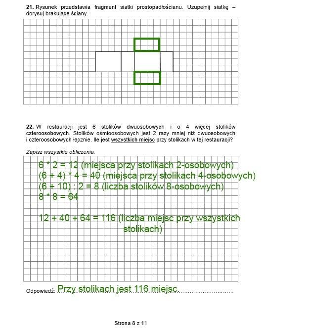 Arkusz sprawdzianu 2014 /INTERIA.PL