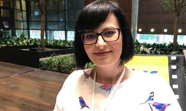 """Arlena Witt - blogerka prowadząca w sieci kanał """"Po Cudzemu"""" /Kuba Kaługa /RMF FM"""