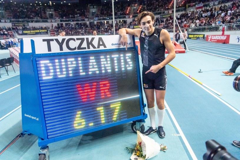 Armand Duplantis /Tytus Żmijewski /PAP