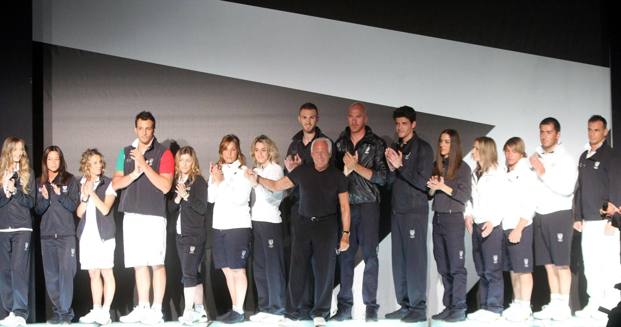 Armani prezentuje stroje dla włoskiej drużuny olimpijskiej