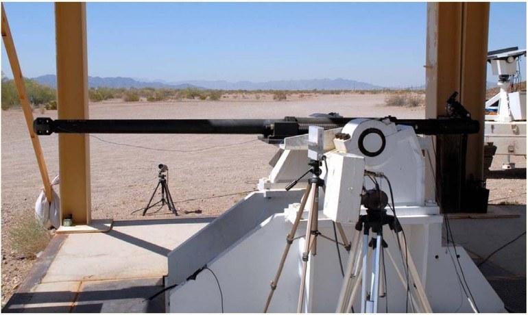 Armata kalibru 50 mm wykorzystywana podczas testów system EAPS ARDEC. Fot. ARDEC /Defence24