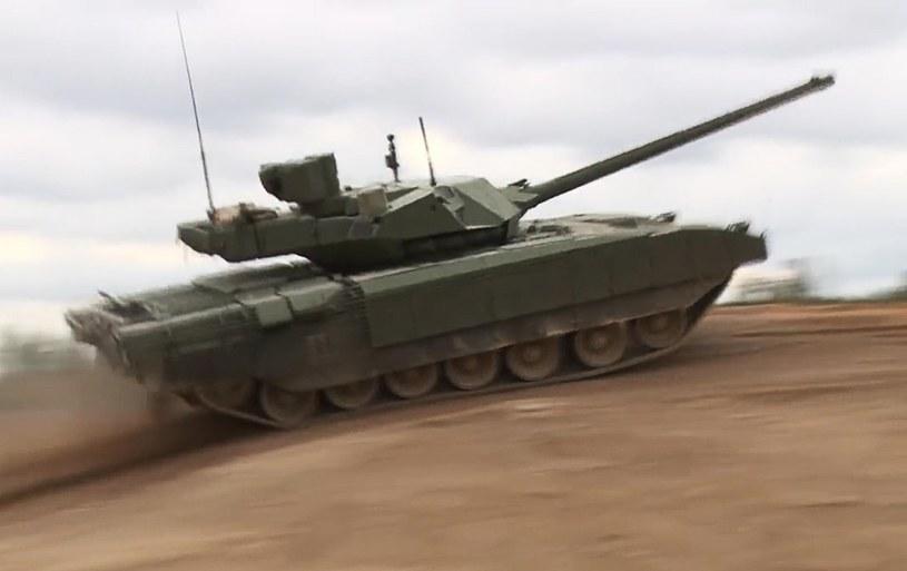Armata miała być przełomem w produkcji broni pancernej. Okazało się, że Rosji brakuje pieniędzy /SPUTNIK Russia /East News