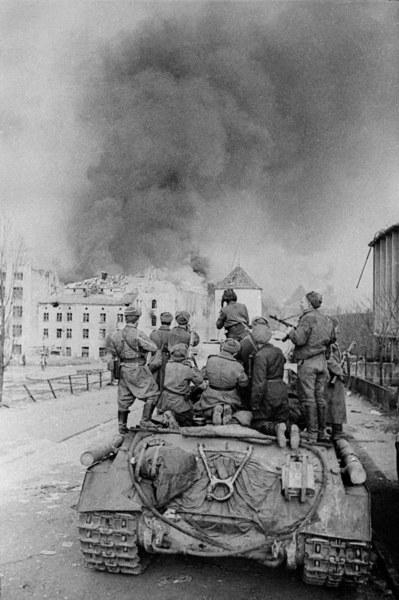 Walki o Gdańsk, 1945