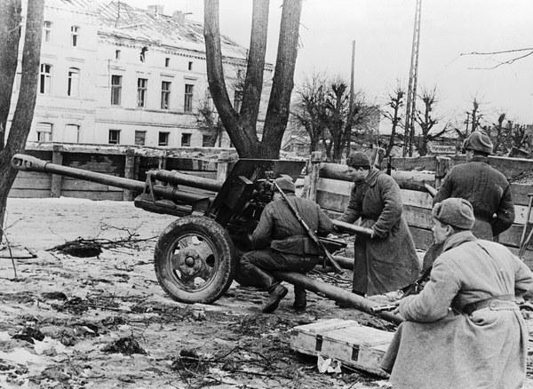 Armia Czerwona na obrzeżach Gdańsku