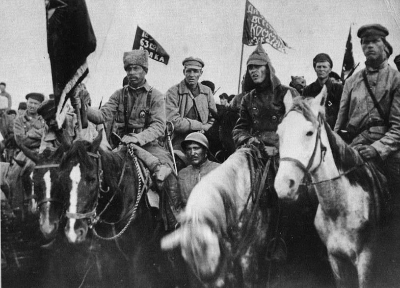 Armia Konna Siemiona Budionnego, 1920 /Reprodukcja: FoKa /Agencja FORUM