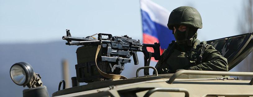 Armia rosyjska na Krymie /Getty Images