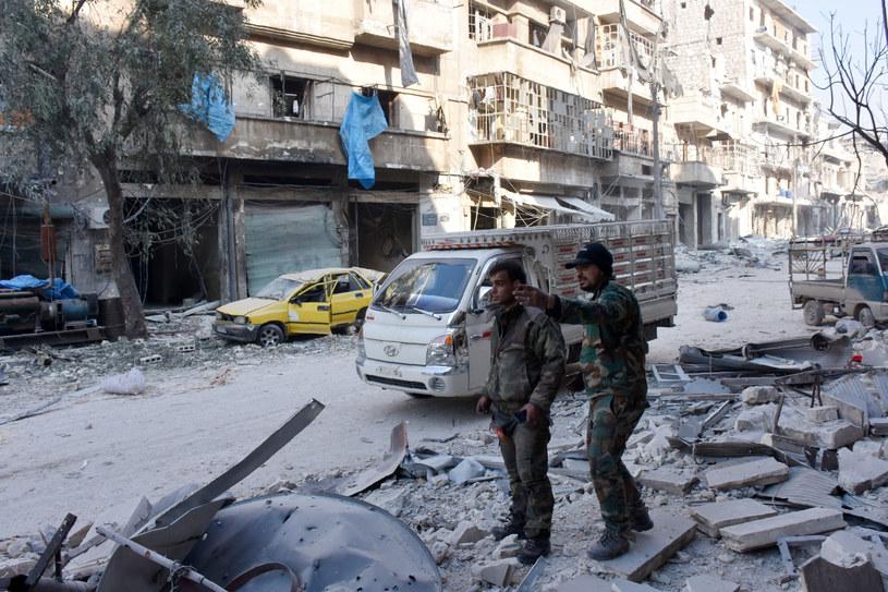 Armia syryjska opanowała dużą dzielnicę na południowym wschodzie Aleppo /AFP