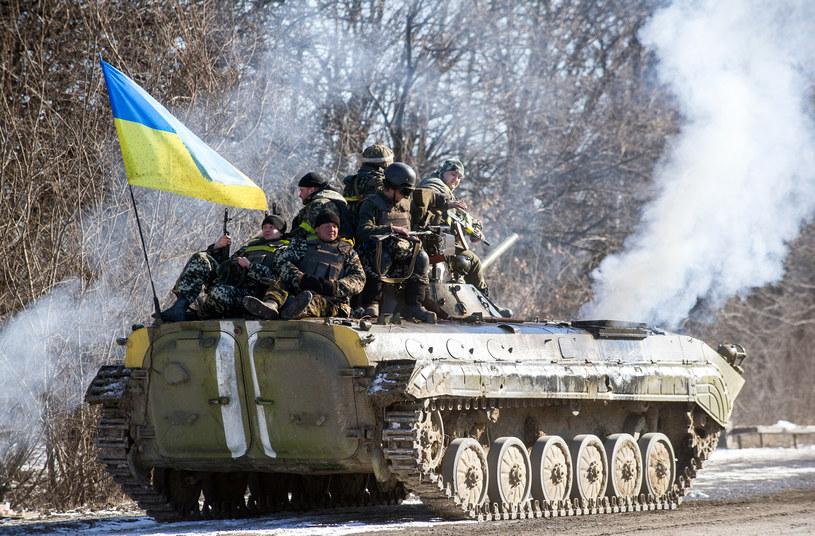 """""""Armia ukraińska jest wciąż armią słabszą"""" /AFP"""