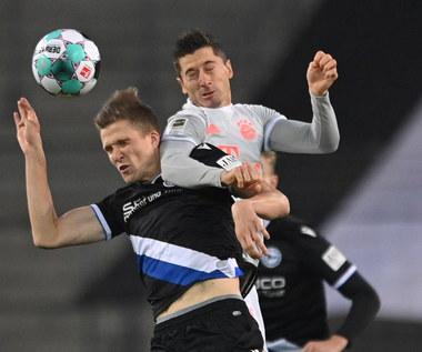 Arminia Bielefeld - Bayern Monachium 1-4 w 4. kolejce Bundesligi. Dwa gole Lewandowskiego