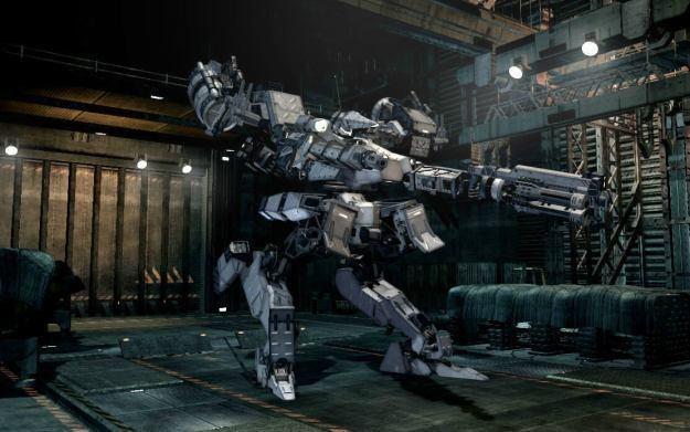 Armored Core V - motyw graficzny /Informacja prasowa