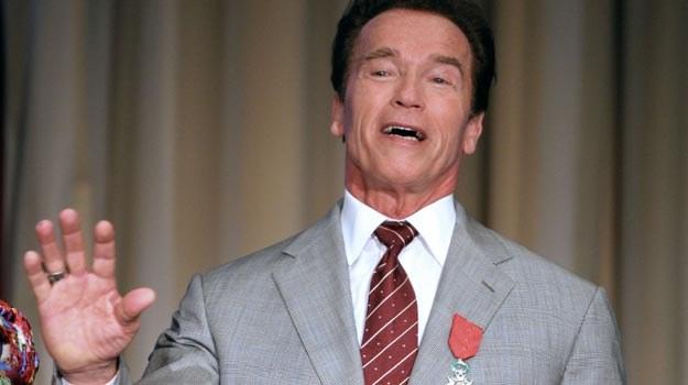 """""""Arnie"""" zachował tylko popiersie Lenina /AFP"""
