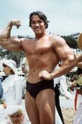 Arnold Schwarzenegger przed laty imponował muskulaturą