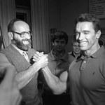 Arnold Schwarzenegger uhonorował mistrza olimpijskiego Jurija Własowa