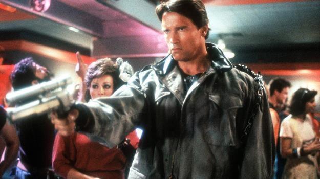 """Arnold Schwarzenegger w scenie z filmu """"Terminator"""" /AKPA"""
