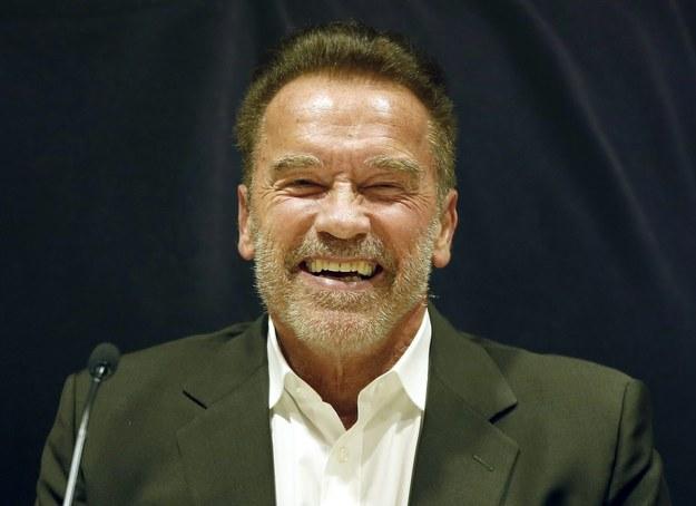 Arnold Schwarzenegger /ANDREU DALMAU /PAP/EPA