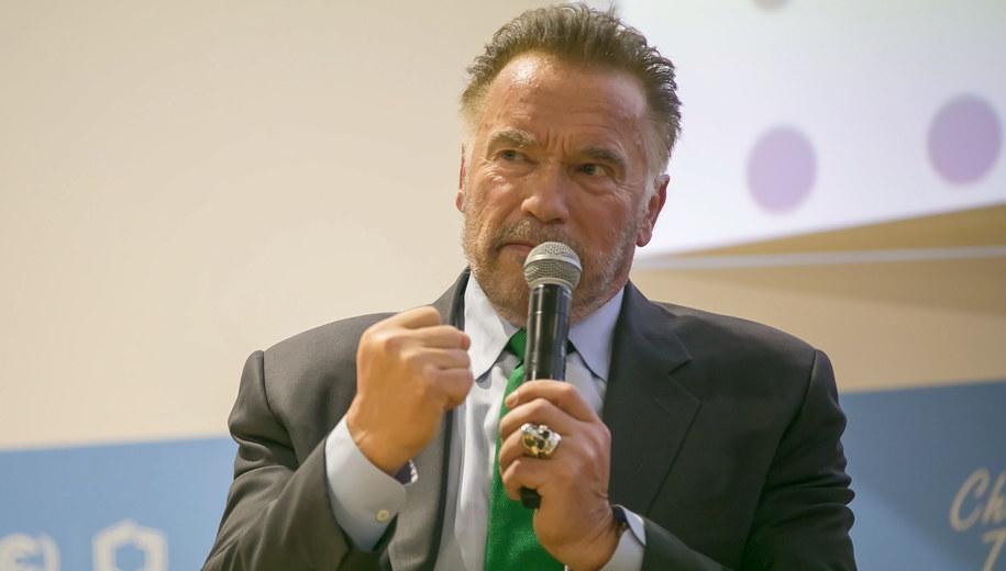 Arnold Schwarzenegger /Hanna Bardo /PAP