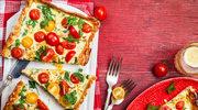Aromatyczna tarta z pomidorami