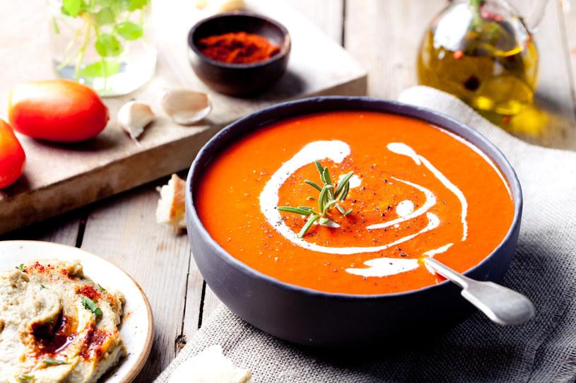 Aromatyczna zupa paprykowa w zaledwie kilka chwil /123RF/PICSEL